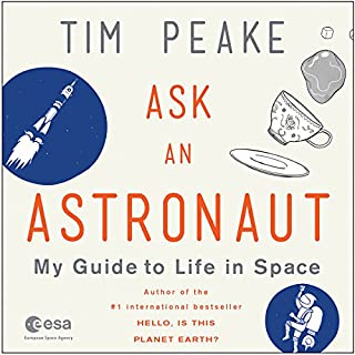 Ask an Astronaut audiobook cover art