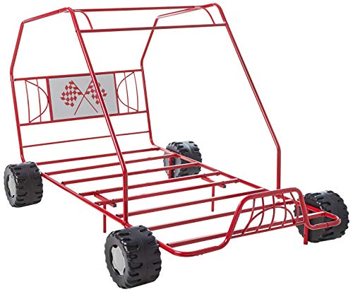 ACME Furniture 2 Count Xander Bed, Twin, Red Go Kart