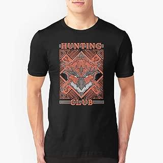 Hunting Club Rathalos Slim Fit TShirtT shirt Hoodie for Men, Women Unisex Full Size.
