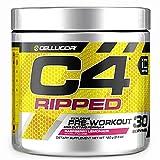 C4 Ripped Pre Workout Powder Raspberry Lemonade |...