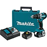 Makita XPH12T 18V LXT Lithium-Ion Compact Brushless Cordless 1/2' Hammer Driver-Drill Kit