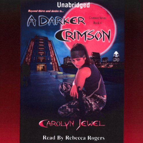 A Darker Crimson audiobook cover art