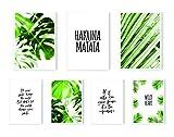 MARELLE® 7er Poster Set, Hakuna Matata, Wohndeko