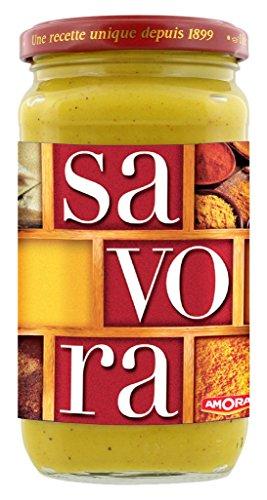 Savora Senf von Amora aus Frankreich 385 g Glas
