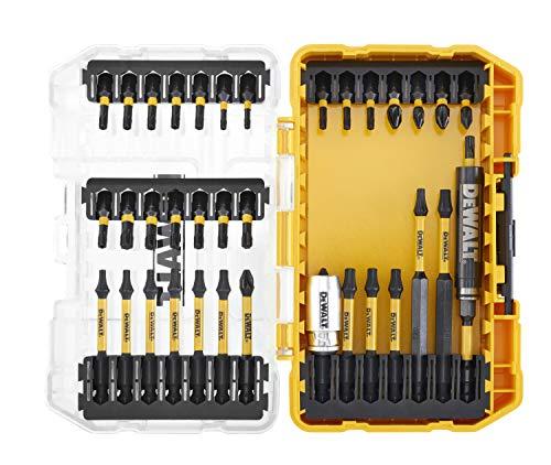 DeWalt DT70732T-QZ Toughcase - Juego de 37 puntas de atornillado FLEXTORQ para taladro atornillador