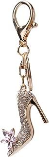 Ivyday Rhinestone High Heel Pendant Charm Keychain Purse Bag Key Ring