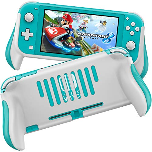 MEQI Grip Case Compatible with Nintendo Switch Lite, Comfortable and Ergonomic Gaming Portable Protective Handheld Cover - Accessories for Switch Lite Console 2019 Release