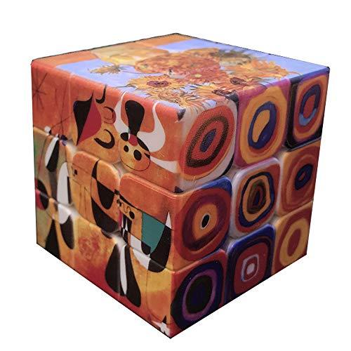 XWDQ Cubos de Tercer Orden Arte Famoso a Nivel Mundial de la
