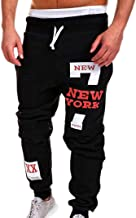 vermers Mens Leisure Pants - Mens Fashion Trousers Casual Letter Printed Sweatpants