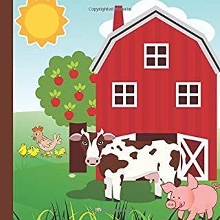 Farm 1st Birthday Party Guest Book: Plus Printable Farm Birthday Invitations,Thank You Cards & Gift Tracker Plus Picture Pages for a Lasting Memory ... 1st Birthday Decorations) (Volume 1)