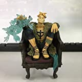 Therfk One Piece Marco Anime Action Figure PVC 15cm,Collection Figures Toys Collection For with Box...