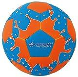 Schildkröt Funsports Beachball Beachsoccer mit Pumpe, Blau, 5