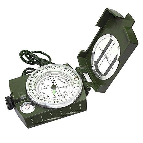 Compas Pr/écision dans un bo/îtier m/étallique Noir avec geolocalisation