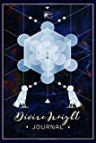 Divine Insight Journal: Ba Bird Soul Spirit - Platonic Solid Metronomes Cube Lined Notebook Journal - Egyptian Kemetic - 120 Pages - Large (6 x 9 inches)