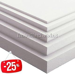 Placas de Poliestireno 50 Piezas, Multiusos 100 X 50 X 1 cm, Diseño de DENSITA'KG/M 15