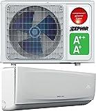 Condizionatore mono cc inverter, 12000BTU, pompa di calore.