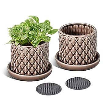 Best large ceramic flower pot Reviews