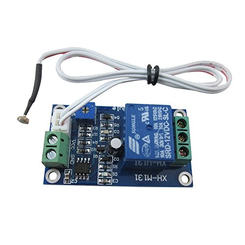 DIGITEN 12V Car Light Control Switch Photoresistor Relay Module Light Detection Sensor