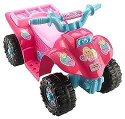 barbie power wheels lil quad