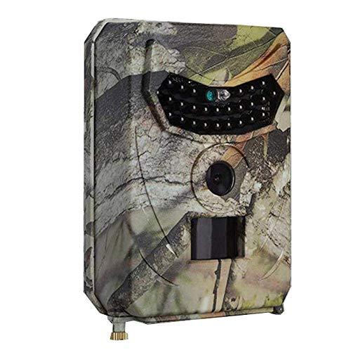 CHRONSTYLE Wildkamera 12MP 1080p Überwachungskamera Spiel Wildlife Pfadfinder Trail Tier Digitale Kamera Bewegungserkennung Wasserdicht mit Nachtsicht (Tarnung, OneSize)