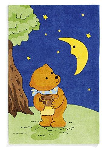Der Mondbär Böing Carpet Tapis, la lune ours, mo-1369, 130 x 190 cm