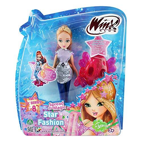 Giochi Preziosi Winx Magic Star Fashion Flora con Winx Board