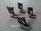 juki 562 - NGOSEW Double Welting Piping Cording Walking Foot for Juki LU-562, LU-563, LU-1508, DNU-241, DNU-1541 S95 (1/4