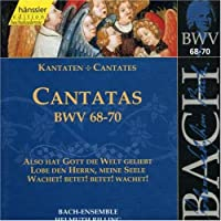 Sacred Cantatas Bwv 68-70