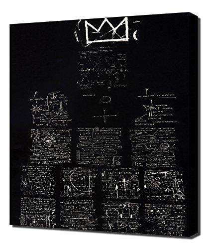 Tuxedo - Jean Michel Basquiat - Impression sur Toile - Image sur Toile - Impression Giclée