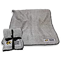Logo Missouri Tigers NCAA Frosty Fleece 60 X 50 Blanket - Team Color