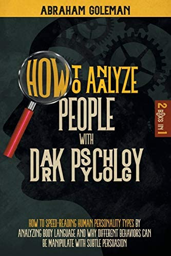How to Analyze People with Dark Psychology 2 Books in 1 How to Speed Reading Human Personality product image