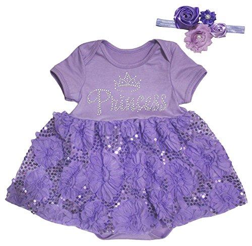 Petitebelle - Body - Robe - Bébé (fille) 0 à 24 mois violet violet 0-3 mois - violet - M