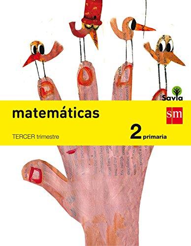Matemáticas. 2 Primaria. Savia - Pack de 3 libros - 9788467