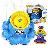漫画おかしいベビーバスおもちゃ電動回転噴霧水船のおもちゃ幼児水ジェットボート浴室浴槽子供ギフト