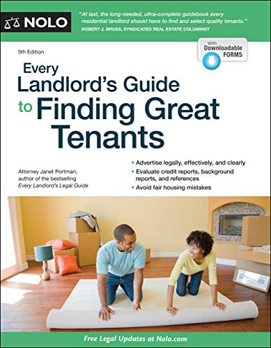Compare Textbook Prices for Every Landlord's Guide to Finding Great Tenants Fifth Edition ISBN 9781413327526 by Portman Attorney, Janet
