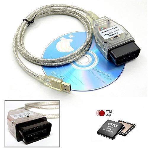 Goldplay INPA K + CAN Ediabas-Kabel mit Switch DCAN-Schnittstelle Codierungsunterstützung E-Serien-Schnittstelle für R56 E87 E93 E70…