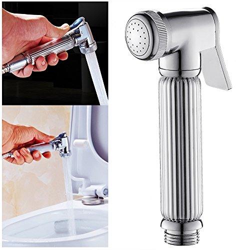 Chien Seasaleshop Kit Douchette Bidet WC Toilette Bb/éb/é Pistolet de Toilette en Acier Inoxydable Set Petit Bidet de Douche pour Musulman