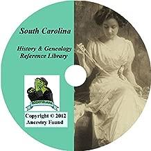 South Carolina History & Genealogy on DVD - 164 books - Ancestry, Records, Family
