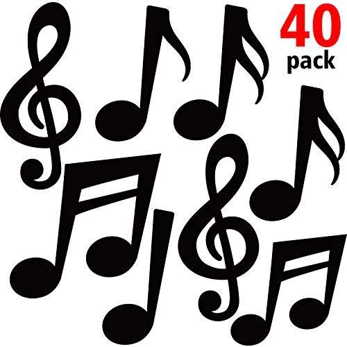 Le pack de notes de musique décoratives