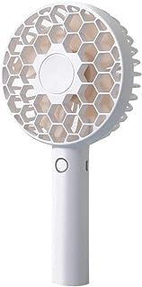 Aijoo ?? 蜂の巣充電小型ファンハンドヘルドUSBミュートポータブルミニファン