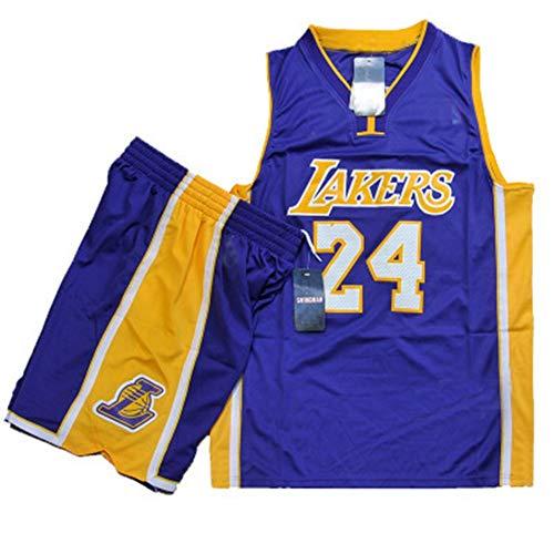 Shelfin Jersey De Hombre Ropa De Baloncesto De La NBA Masculinos del Juego, James Camiseta con El Número 23 De Los Cavaliers, Kobe Bryant Camiseta con El Número 24, Lakers