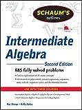 Schaum's Outline of Intermediate Algebra, Second Edition (Schaum's Outlines)