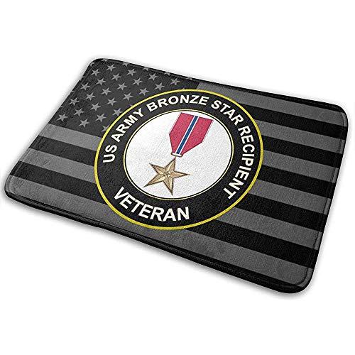Liumt US Army Veteran Brons Star Medal deurmat antislip mat badkamer keuken tapijt