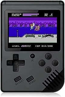 Losdz Handheld Game Console,Portable Video Game 3 Inch HD Screen 300 Classic Games,Retro Game Console for Player Classic Game Console 1 USB Charge, Birthday Presents for Children(Black)