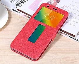 """Flip Cases - Flip Cover for for Lenovo K5 Play L38011 Case Flip Leather Phone Case for for Lenovo K5 Play K320t 5.7"""" Back Cover Funda (Red)"""