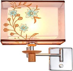 LED Moderna Lámpara de Pared Lámpara de pared Nueva lámpara de pared china dormitorio minimalista moderno lámpara de pared led lámpara de noche creativa europea 25 * 16 cm