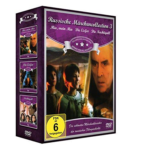 Russische Märchen-Collection 3 (3er-Schuber: Mio, mein Mio - Die Eisfee - Die Nachtigall) [3 DVDs]
