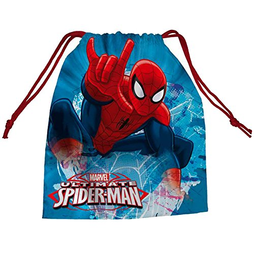 Spiderman AS071 – 2017 – Poche pour Sac à Dos, 14 cm, Multicolore