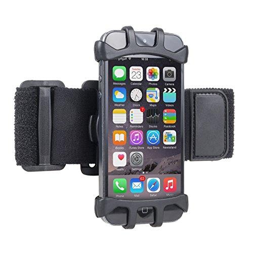 Maclean MC786 Support pour Smartphone Sport pour Le Jogging, Fitness, randonnée, Escalade Cyclisme, Sport, Facile Universel