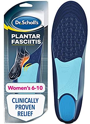 Dr. Scholl's Plantar Fasciitis Pain Relief Orthotics // Clinically Proven Relief and Prevention of Plantar Fasciitis Pain